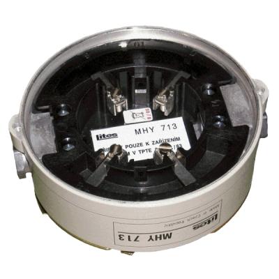 DRZ-MHY-7X3 NÁHRADNÍ DÍL - Držák montážní patice adresných odolných detektorů