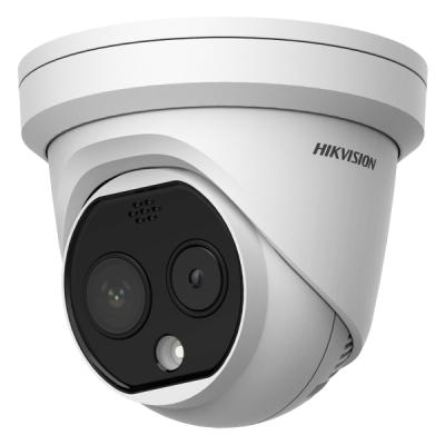 DS-2TD1217B-6/PA(B) Termografická Bi-spektrální IP kamera pro měření teploty těla, turret
