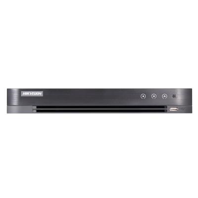 DS-7208HUHI-K1/E Turbo HD/CVI/AHD/CVBS DVR, 8 kanálů + 8 IP, až 8MPx, (bez HDD)