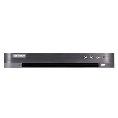 DS-7216HUHI-K2(S)AoC Turbo HD/CVI/AHD/CVBS DVR, 16 kanálů + 8 IP, až 5MPx, (bez HDD)
