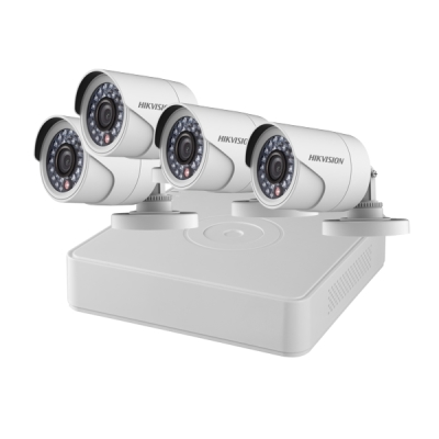 DS-J142I/7104HQHI-K1+4CAM Set Turbo HD DVR (7104HQHI-K1) + 4x DS-2CE16D0T-IRP(3.6mm)