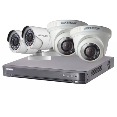 DS-J142I/7204HQHI-K1+2+2CAM Set Turbo HD DVR (7204HQHI-K1) + 2x DS-2CE16D0T-IRP(3.6mm) + 2x DS-2CE56D0T-IRP(3.6mm)