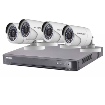 DS-J142I/7204HQHI-K1+4CAM Set Turbo HD DVR (7204HQHI-K1) + 4x DS-2CE16D0T-IRP(3.6mm)