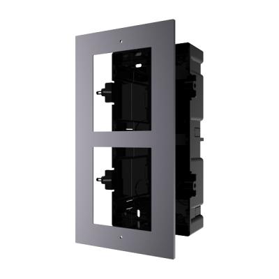 DS-KD-ACF2(Plastic) Rámeček pro interkom, 2 moduly, zapuštěný