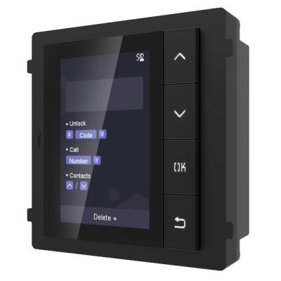 DS-KD-DIS Venkovní dveřní modul s LCD displejem