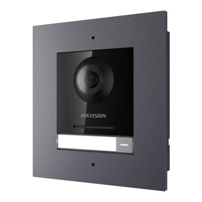 DS-KD8003-IME1/Flush(Europe 1-tlačítkový kamerový modul s kamerou 2MPx, zapuštěná montáž