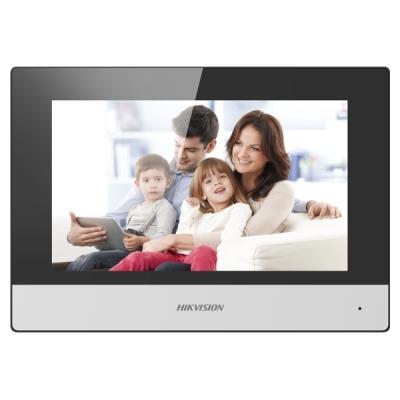 DS-KH6320-WTE2 Domovní jednotka videotelefonu s LCD monitorem, WiFi, plast, černá, dvoudrátové připojení