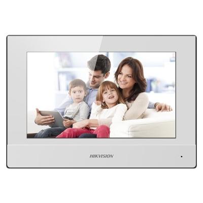 DS-KH6320-WTE2-W Domovní jednotka videotelefonu s LCD monitorem, WiFi, plast, bílá,dvoudrátové připojení