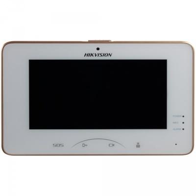 DS-KH8301-WT Domovní jednotka videotelefonu s LCD monitorem, WiFi