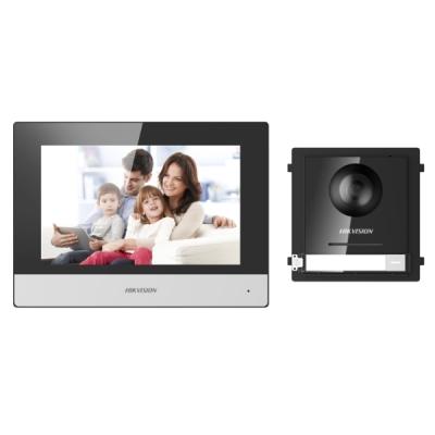 DS-KIS602(Europe) Sada analogového videotelefonu - tlačíkový modul + domovní jednotka