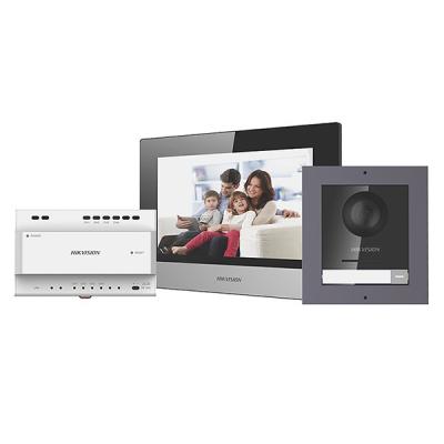 DS-KIS702 Sada 2drát videotelefonu - venkovní tablo + domovní jednotka + napájecí zdroj