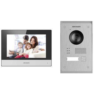 DS-KIS703-P Sada 2drát videotelefonu - venkovní tablo + domovní jednotka + napájecí zdroj