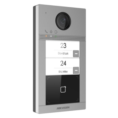 DS-KV8213-WME1 Venkovní dveřní tablo s kamerou pro 2 monitory, IR