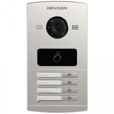 DS-KV8402-IM Venkovní dveřní tablo s kamerou pro 4 monitory, IR