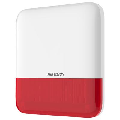 DS-PS1-E-WE(RED) Bezdrátová venkovní siréna pro AX PRO, 110dB, červená