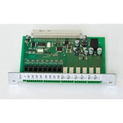 DVV-1 (IN8/OUT6R) Přídavná deska 8 vstupů/6 výstupů do ústředen MHU-116/117