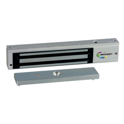 EF-300-CTC Dveřní elektromagnet 300kg, 12/24V, LED+relé výstup