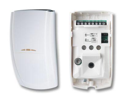 """ELITE-QD Vnitřní digitální """"Quad"""" infradetektor pohybu, dosah 15m"""