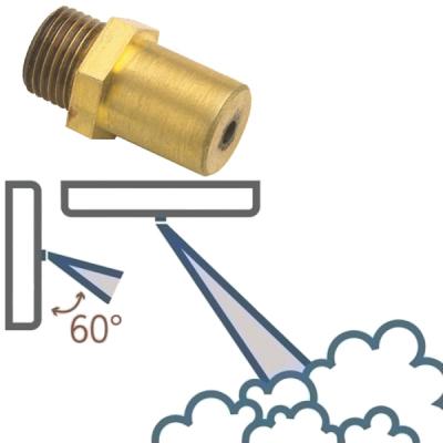 FOGGY-ER160 Jednootvorová tryska 60° pro FOGGY-30W a FOGGY-50W