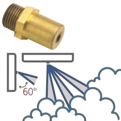 FOGGY-ER360 Tříotvorová tryska 60° pro FOGGY-30W a FOGGY-50W