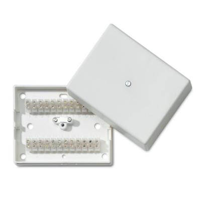 ES-060-W Plastová rozvodná krabička, 24 svorek