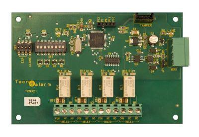 ESP-4-RS Externí modul 4 releových výstupů