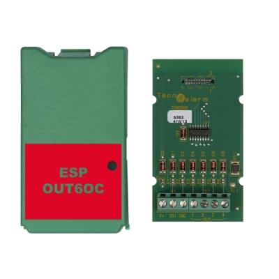 ESP-OUT-6OC Interní rozšiřující modul pro ústředny