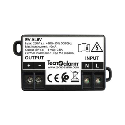 EV-AL-5V Napájecí zdroj pro rádiovou LCD klávesnici