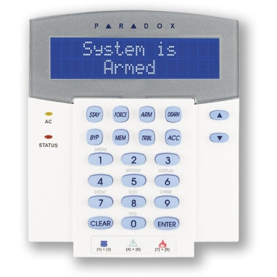 K641LX-868 LCD klávesnice se zabudovaným RTX přijímačem