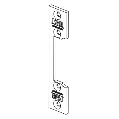 FAB16-L-RK Instalační lišta rovná krátká