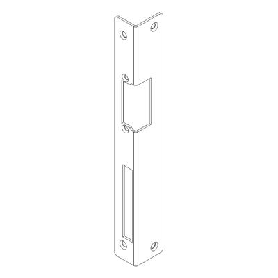 FAB16-L-LD Instalační lišta rohová pro levé dveře
