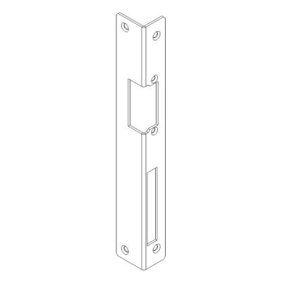 FAB16-L-PD Instalační lišta rohová pro pravé dveře