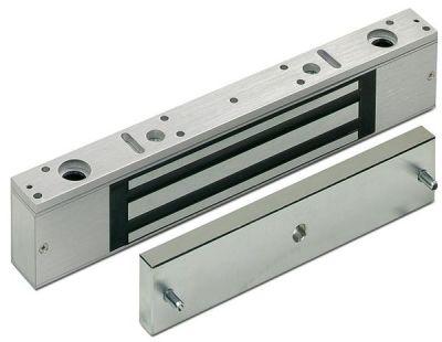 FE-321 Elektro-magnetická přídrž na dveře, 300kg, 268 x 48 x 25mm