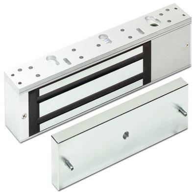 FE-370 Elektro-magnetická přídrž na dveře, 600kg, 268 x 73 x 40mm