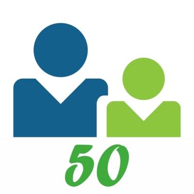 BSv5-U50 Uživatelská licence pro 50 uživatelů, verze 5