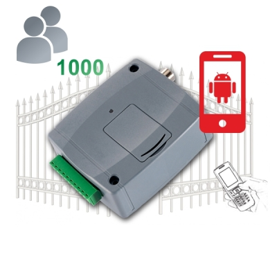 GITA-CONTROL-Pro1000-3G Univerzální GSM brána s funkcemi pro ovládání vrat, 1000 uživatelů