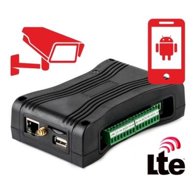 GITA-IP-BRIDGE-PRO-4G GSM-2G/3G/4G a LAN komunikátor - objektové zařízení