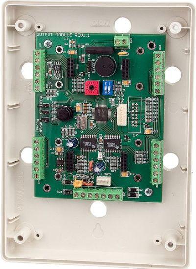 GVM-16 Výstupní modul s 16 PGM výstupy pro ústředny GALAXY