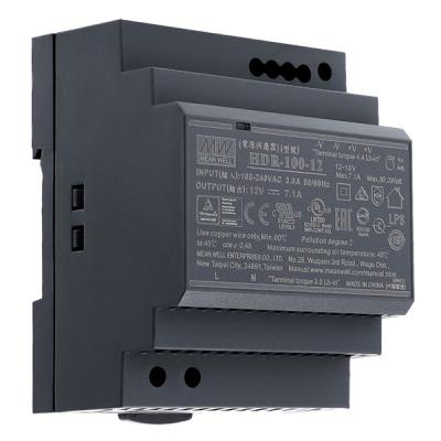 HDR-100-12 Napájecí zdroj 12V výstupní proud 7,1A na DIN
