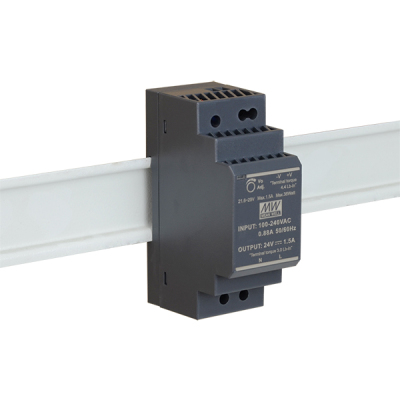 HDR-30-24 Napájecí zdroj 24V výstupní proud 1,5A na DIN