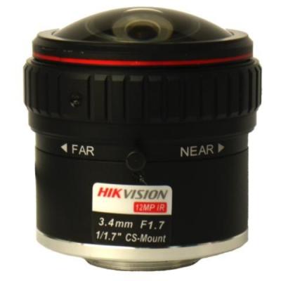 """HF3417D-12MPIR Objektiv 12MPx, IR 3.4-17mm F1.7 CS 1/1.8"""""""