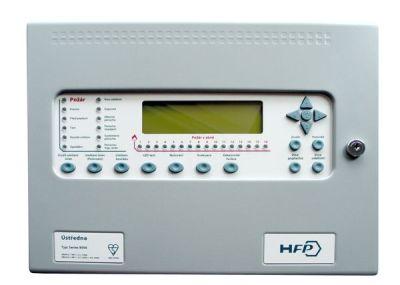 HFP-AP-1ASS Analogová ústředna - 1 kruhová linka, 16 LED indikací