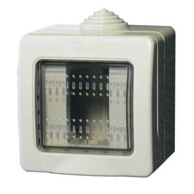 IDRO-BOX-1 Krabička s víčkem pro čtečku ATPK/M, IP55