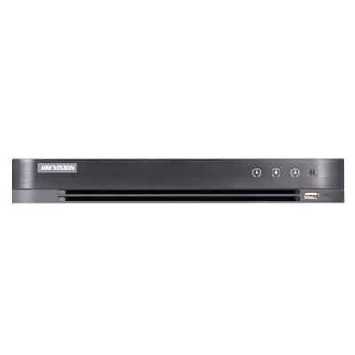 iDS-7208HUHI-M1/S/A Turbo HD/CVI/AHD/CVBS DVR, 8 kanálů + 4 IP, až 8MPx, AcuSense, (bez HDD)