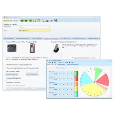 iDTECK-STANDARD-1000 Správcovský program pro max. 1000 uživatelů