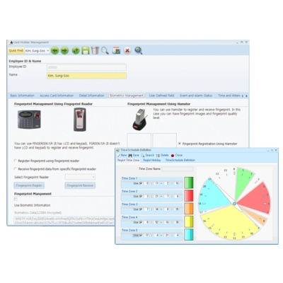 iDTECK-STANDARD-LIGHT Správcovský program pro max. 500 uživatelů