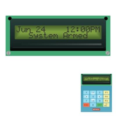 iT-LCD Displej řídící jednotky - dodatečná výbava
