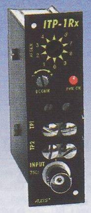 """ITP-1Rx-RM Přijímač videosignálu z krouceného páru, """"RackMount"""""""