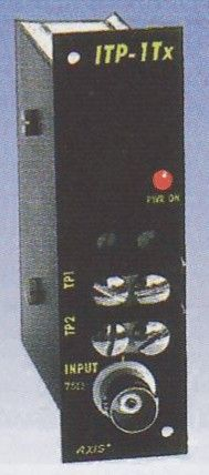 """ITP-1Tx-RM Vysílač videosignálu po krouceném páru, """"RackMount"""""""