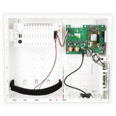 JA-107KRY Ústředna s vestavěným LAN a GSM komunikátorem 0-230 zón, 15 podsystémů